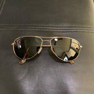 Maui Jim Gold Sea House Sunglasses